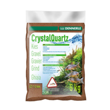 Dennerle Crystal Quartz Gravel-Roe Brown-5 kg-1