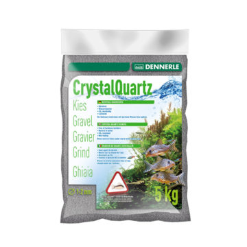 Dennerle Crystal Quartz Gravel-Slate Grey-5 kg-1